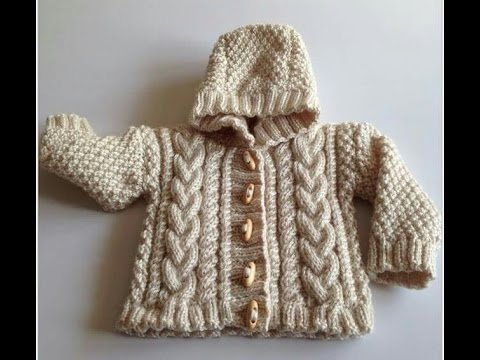 New Sweater Design In Hindi Knitting Pattern Design For Hooded