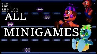 ALL Minigames - FNaF 6