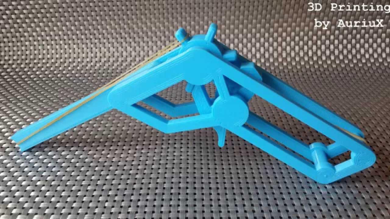 3d Printing Rubber Band Gun On My Reprap Prusa I3 Part 3