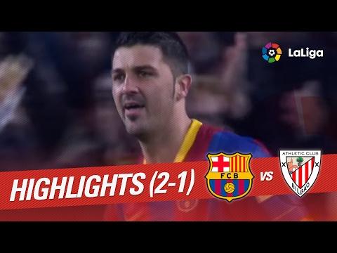 Resumen de FC Barcelona vs Athletic Club (2-1) 2010/2011