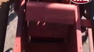 Испытание вертикального конвейера (нории)(