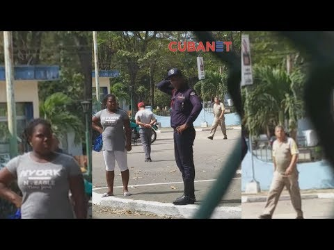 Policía golpea a bicitaxista en La Habana, Cuba