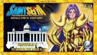 Saint Seiya Batalla por el Santuario (Gameplay en Español, Ps3) Capitulo 1 Templo de Aries