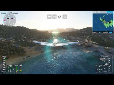Défi d'atterrissage Flight simulator 2020 à l'Ile de Saint Barthelemy Sans commentaires