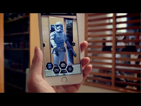 Official Star Wars App: Augmented Reality Feature