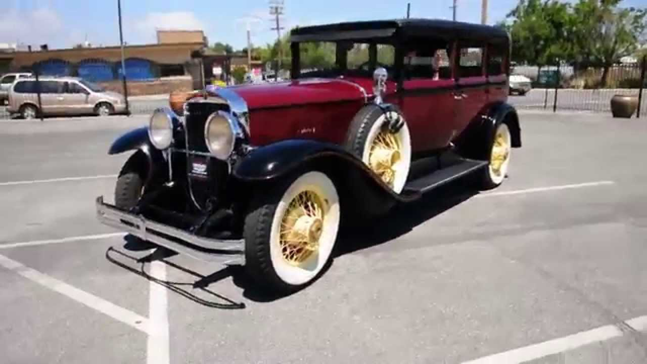 Exceptionnel 1928 Cadillac 341 Limo stock R12010 - YouTube HM93