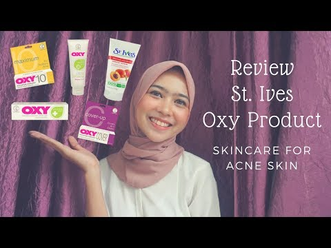 Review St.Ives & Oxy Product - Skincare for Acne Skin