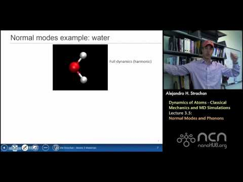 nanoHUB-U Atoms to Materials L3.5: Normal Modes and Phonons