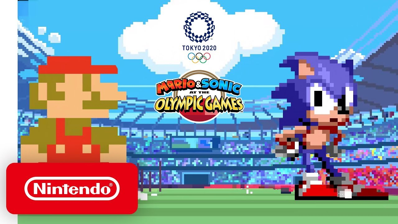 Mario And Sonic At The Olympic Games 2020.Mario Sonic At The Olympic Games Tokyo 2020 Classic 2d Events Reveal Trailer Nintendo Switch