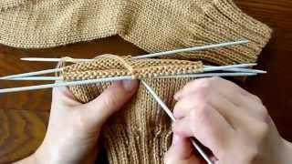 Вязание простых носков