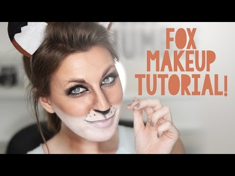 Fox Makeup Tutorial For Halloween Wonder Forest Youtube - Fox-makeup