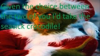 You're a Mean One, Mr. Grinch by Thurl Ravenscroft (Lyrics)