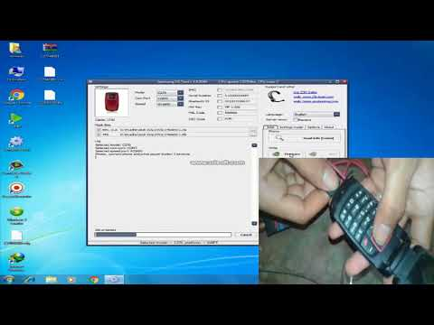 How To Flash Samsung sgh c270 With Z3X BOX