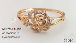 Latest Rose Gold Bracelet For Collage Girls