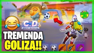 Les DOY TREMENDA GOLIZA en el SOCCER ROYALE!! :v Creative Destruction | Lobo Jz