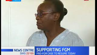The case in which a medical doctor wants the female genital mutilat...