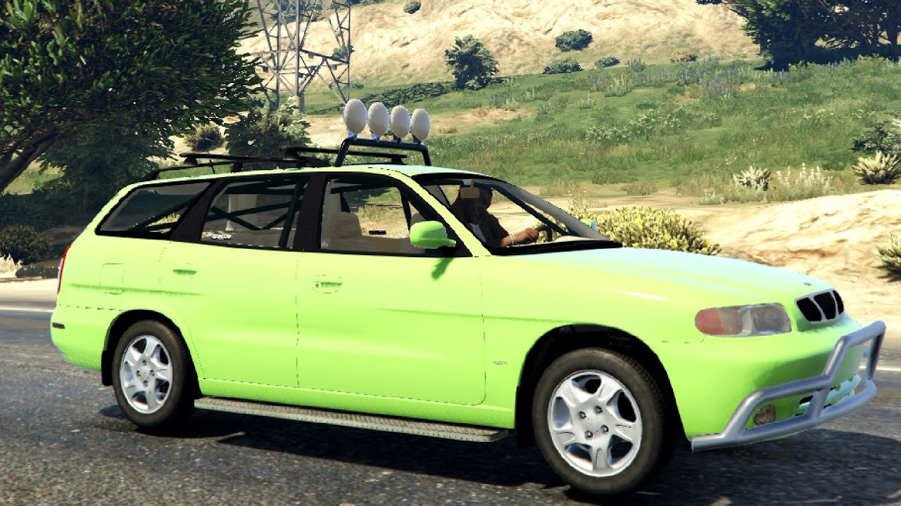 1999 daewoo nubira i wagon cdx us 2 0 final gta v
