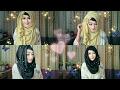 Eid special Hijab Tutorial for Saree and Kamij | Pari ZaaD ❤