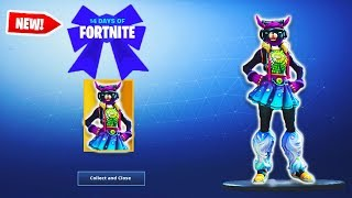 "14 DAYS OF FORTNITE FINAL REWARD! - NEW ""FEMALE DJ YONDER"" SKIN - Fortnite News & Leaks"