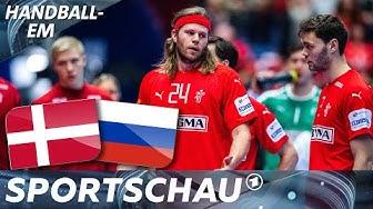 Tschüss Dänemark! Knapper Sieg gegen Russland zum Abschied | Handball-EM | Sportschau