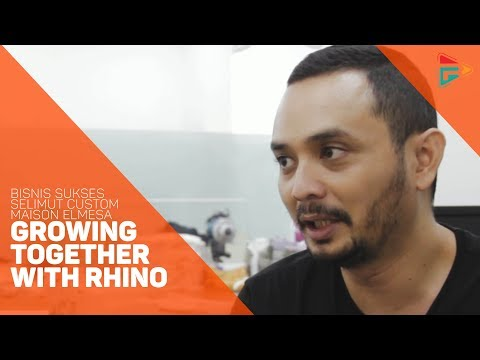 """Bisnis Sukses Selimut Custom Maison Elmesa """"Growing Together  with Rhino"""""""