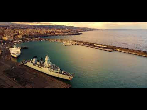 """Porto di Catania """"A punta 'o molo"""" - DJI MAVIC PRO 4K"""