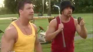 Eddie  Guerrero VIVA LA RAZA - Playing Golf