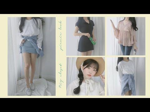 [ RIZ CLOSET ] 패션하울 │ 케즈코디│ 피크닉룩 │ 리즈클로젯 │ fashion haul │ Keds fashion