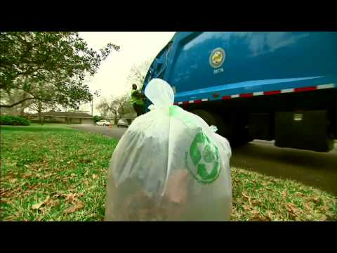 "City of Houston Compostable Bags ""We're Doing It"""