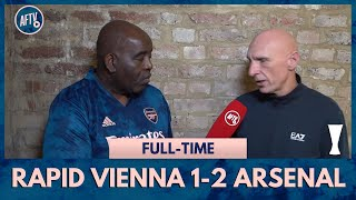Rapid Vienna 1-2 Arsenal | Leno Must Cut Out The Mistakes! (Lee Judges)
