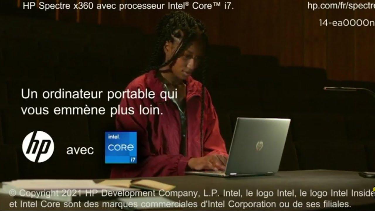 """Musique pub HP Spectre x360 """"un ordinateur portable qui vous emmène plus loin""""  2021"""