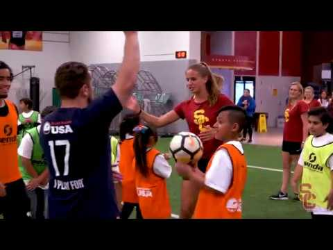 Trojan Outreach - Homeless Youth Soccer Clinic