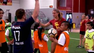 Trojan Outreach - Homeless Youth Soccer Clinic