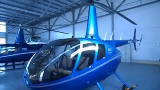 видео Полет на вертолете