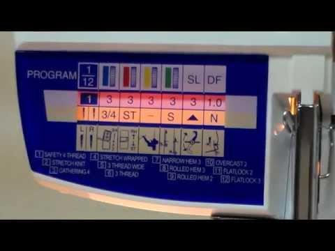 ELNA 664 Pro видео обзор