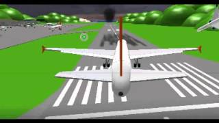 ROBLOX FLIGHT 2012 // ( easyjet victoria to lyonesse airport )