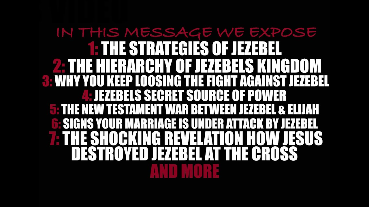 The Kingdom of Jezebel (DEEP!)