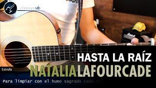 Como tocar Hasta La Raiz NATALIA LAFOURCADE | Guitarra Tutorial FACIL Christianvib