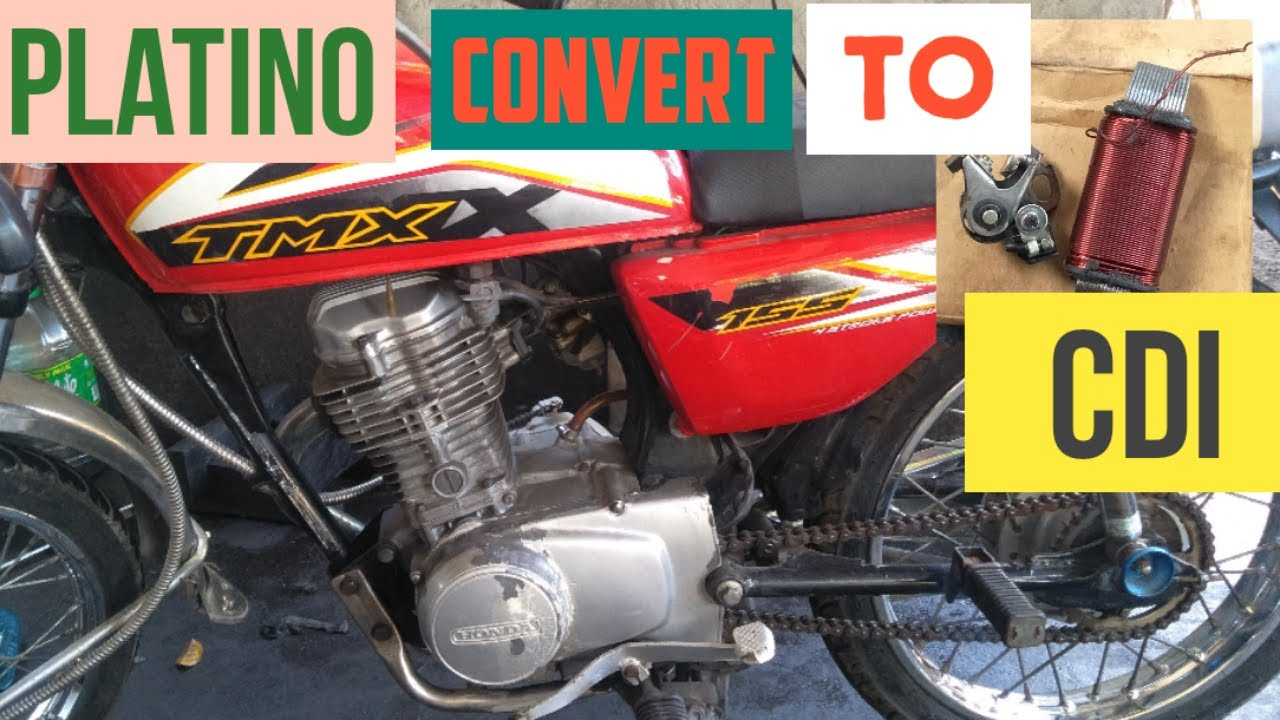 Honda Tmx 155 Contact Point Or Platino Convertion To Cdi
