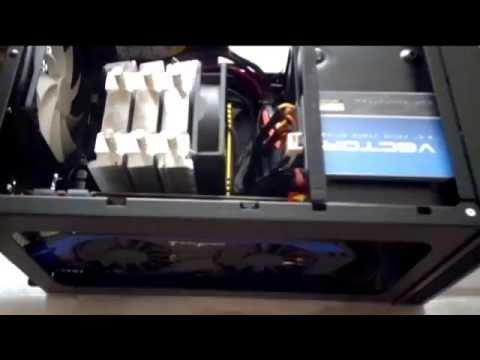 видео: Сборка мощного игрового mini-itx  компьютера i7 4770к в antec isk600