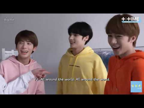 (ENG SUB) [T:TIME] Best English speaker, Who? - TXT (투모로우바이투게더)