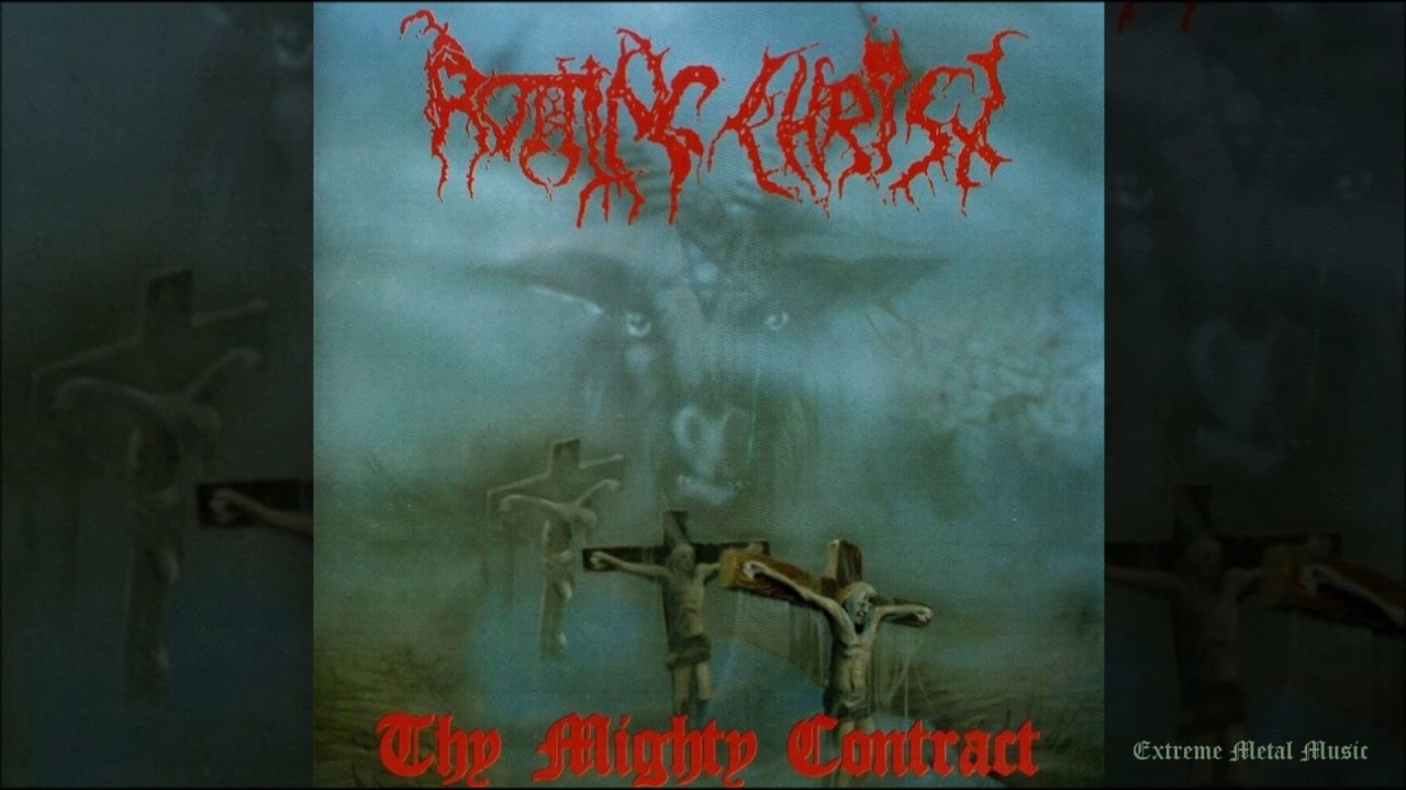 rotting christ thy mighty contract full length 1993 youtube
