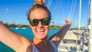 Camilla-Lilla joins us in Mauritius! Yeeaahh! Sailing Vessel Delos Ep. 114