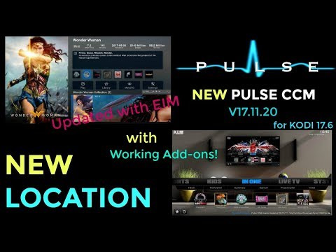 NEW PULSE CCM BUILD | NEW LOCATION | KODI 17.6