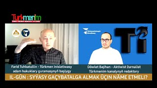 #Turkmenim Syýasy gaçybatalga almak üçin näme etmeli? IL-GÜN