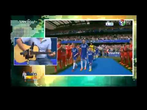 NRsportsRadio ไปโชว์เกรียนพากย์บอลเป็นเพลงที่ ช่อง 3 SD