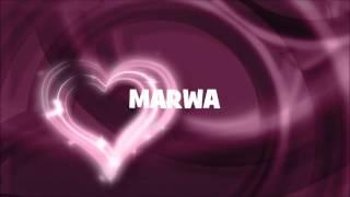 JOYEUX ANNIVERSAIRE MARWA !