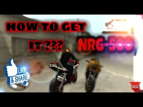 9e8234b2be7c4a How to get a NRG 500 in GTA SA