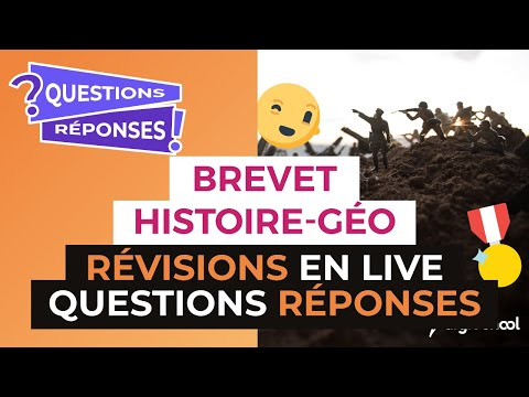Brevet 2017 : Révisions en Live d'Histoire Géo : Questions Réponses - digiSchool