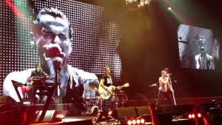 Depeche Mode - Never Let Me Down Again (Live in Bratislava 6.2.2014)